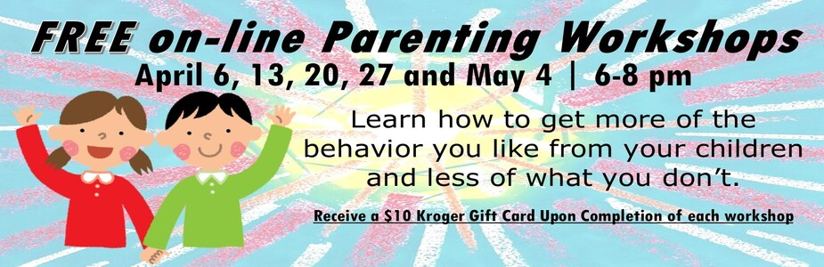 Free online parenting workshop REGISTRATION REQUIRED